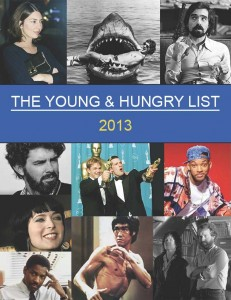 THE YOUNG AND HUNGRY LIST 2013 Title